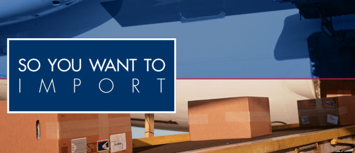 so you want to import